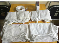 Two Martial Arts Karate Judo Gi Suits and Belts around 170cm