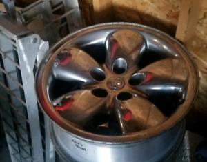 20 inch chrome dodge rims