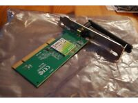 TP link wireless PCI card
