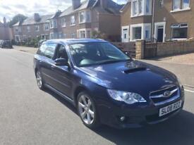 Subaru Legacy 2ltr tdi boxer diesel estate 08reg 1 year mot no advisory fsh