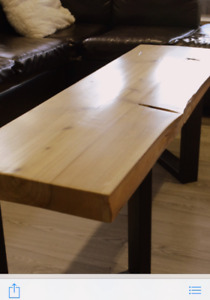 One of a Kind Live Edge Coffee Tables-Locally made!