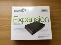 Seagate 4 TB USB 3.0 Desktop External Hard Drive for PC, MAC, Xbox One, PS4 (Brand New and Unused)