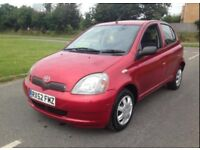 Toyota Yaris vvt-i 1.0L only 79000miles with 1yr MOT £750 No offers please