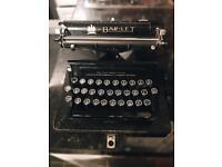 1921 Bar-let Model 2 Typewriter