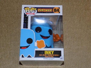 FUNKO, POP, INKY, VAULTED, PAC-MAN GHOST, GAMES #84, FIGURE