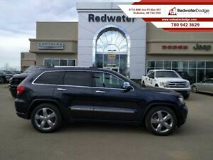 2012 Jeep Grand Cherokee OVERLAND   - Sirius -  moonroof -  leat