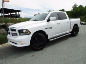 2014 RAM 1500 Sport (AIR RIDE SUSPENSION, HEATED/COOLED LEATHER,