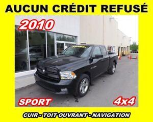 2010 Dodge Ram 1500 SPORT ** TOIT + GPS + FULL CUIR **
