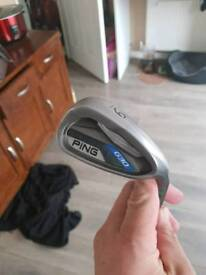 golf clubs, ping G30 irons 5-SW