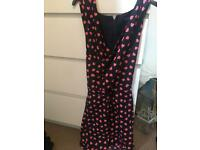 Love heart playsuit size 12