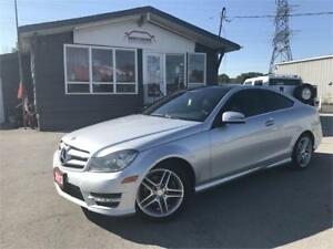 2013 Mercedes-Benz C 250 AMG APPEAR PANO LEATHER NO ACCIDENTS