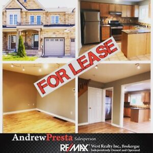 TOWNHOUSE FOR LEASE IN MAPLE!