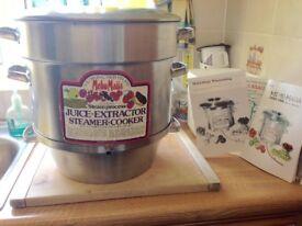 Mehu-Maija Steamer Cooker & Juice Extractor