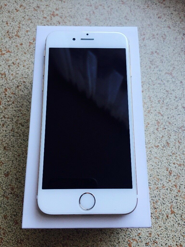 *** Iphone 6 white/gold ***
