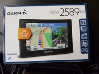 "Garmin Nuvi 2589LM 5"" GPS Sat Nav - UK & Europe - Lifetime Maps, Traffic, BT"