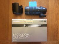 Tamron 70-200mm F/2.8 Di VC USD for Canon