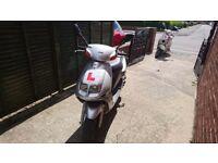 Sym jet 50 cc moped