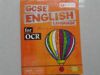 GCSE English Language for OCR guide.