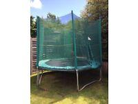 Power 10 ft trampoline.