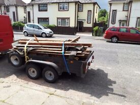 8×4 builders trailer for sale new tyres