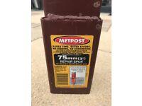 Metpost fence post holder - 75mm