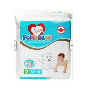Polar Bear Premium Baby Diapers (Brand New Sealed)