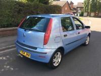 2004 04 FIAT PUNTO 1.2 8V ACTIVE BLUE 5 DOOR