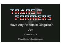 TRANSFORMERS WANTED