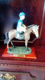 Academy collection horses with rider