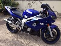 2000 Yamaha R6 in good condition.