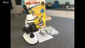 Microscope & slides (new)