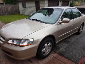 2000 Honda Accord V6 EXL Sedan