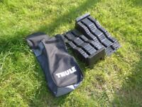 Thule Leveling ramps for Campervan, with storage bag. 5 ton capacity. 3 steps. As new.