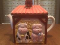 Novelty Teapot - Collectors Item