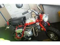 Monkey bike / pitbike for boat or campervan