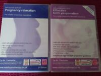 Maggie Howell birth preparation/ relaxation hypnotherapy CDs