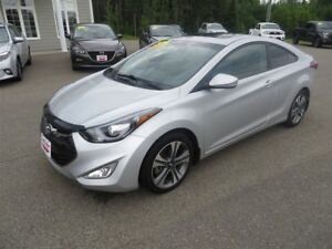 2014 Hyundai Elantra COUPE, NAVIGATION, HTD LEATHER, SUNROOF!