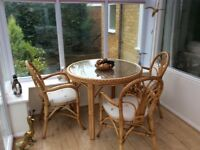 Conservatory Table & 4 Chairs