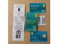 EE sim card - £10 pre-loaded - Pick your pack!