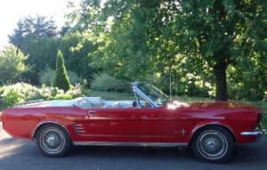 1966 Ford Mustang Cabriolet