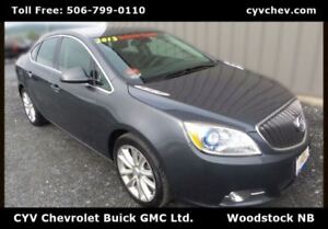 2013 Buick Verano CXL - Heated Leather Seats & Steering Wheel, R