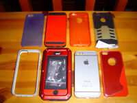 iPHONE 5S COVERS X 8