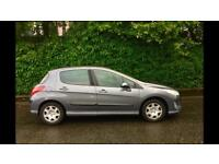 Diesel £31.50 Per Year TAX, Peugeot 308 S DT, Long MOT ( Year 2008 )