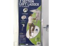 Brand new loft ladder £30 (£69.99 from littlewoods)