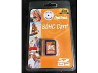 SDHC 4gb memory card