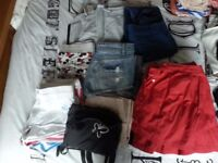 Size 6-8 ladies clothes - bundle of shorts, skirts, joggers, skorts - from a pet & smoke free home