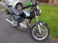 Jincheng 125 motorbike