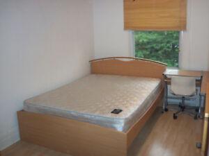 Chambres meublées, métro LaSalle, Verdun, 415-425$/m, tout inclu