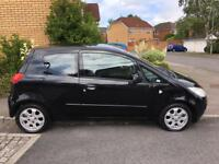 Mitsubishi colt 1.3l black 12 month MOT & excellent condition