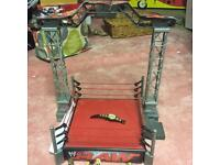 WWE Raw Ring & Wrestlers